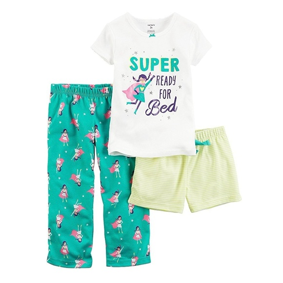 6d75f10bb Carter's Pajamas | Carters Im Super Ready For Bed Pj Set Nwt | Poshmark